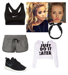 """""""Untitled #16"""" by jackelynponce on Polyvore featuring NIKE and yunotme"""