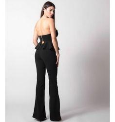 Παντελόνια Jumpsuit, Suits, Black, Dresses, Fashion, Overalls, Vestidos, Moda, Monkeys