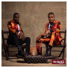 Nigerian designer @mcmeka SS 2014 collection Men About Town! Photography by D'Mayo photography.