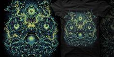 """""""parasite"""" t-shirt design by goatspeed"""
