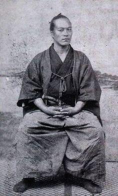 Yamaoka  Tesshū was a famous Samurai of the Bakumatsu period