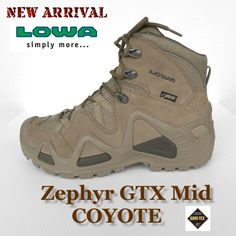 Lowa Zephyr GTX mid Coyote - Scarpe - Abbigliamento