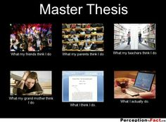 Tips for writing a master's thesis
