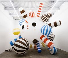 """friends with you"" installation in nyc. coming to a pinterest office near me?!"