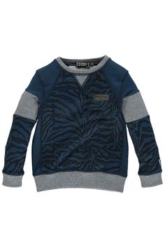 Tumble 'n Dry Sweater fantasy Boys Sweaters T1501-59100 Blue 2320.30.110
