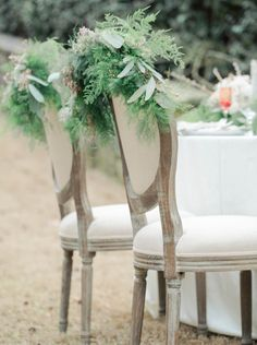 Gorgeous chairs: http://www.stylemepretty.com/georgia-weddings/atlanta/2015/05/29/elegant-swan-house-garden-wedding-inspiration/ | Photography: Amanda Berube - http://amandaberube.com/