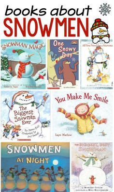 Our favorite snowman books - The Measured Mom These books about snowmen are perfect for preschool and kindergarten.<br> These are our favorite snowman books for preschool and kindergarten. We hope you find some new favorites! Art Therapy Activities, Literacy Activities, Winter Activities, Christmas Activities, Therapy Ideas, Reading Activities, Kindergarten Books, Preschool Books, Preschool Themes