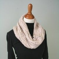 Candle Flame Cowl free knit pattern @ about.com