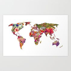 It's Your World Art Print by Bianca Green - $19.00