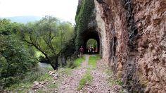 Percorso ciclopedonale ex ferrovia abbandonata Spoleto-Norcia