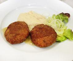 Denné menu Vranov | Karbonát. z atlant. lososa s citrónovou zálievkou, zelerové pyré zdob. limetkou - reštaurácia Hotel patriot*** #hotel #restaurant