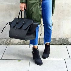 "dd5c0bd902 "" dagalewska in  Céline Tie bag Celine Bag"