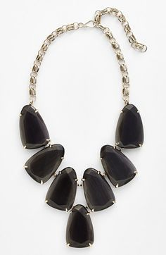 Free shipping and returns on Kendra Scott 'Harlow' Frontal Necklace at Nordstrom.com. A doubly anchored gold-plated chain supports a statement-making bib of glossy, oversized stones.