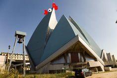Architizer Blog » Modern Churches + Chickens = Meme