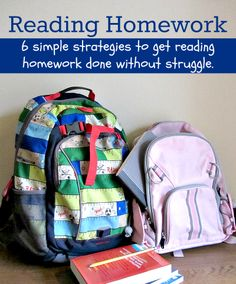 6 tips for helping your kids get reading #homework done without a fight.  See this #RaiseaReader blog for more.