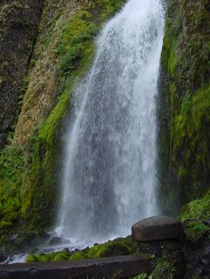 Waterfall Landscape Stock Pic by Enchantedgal-Stock.deviantart.com on @deviantART