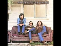 From 1969 and the iconic LP titled only Crosby, Stills & Nash - 'Guinnevere'