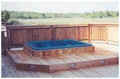 Hot Tub Privacy Spa Enclosures On Pinterest Hot Tub