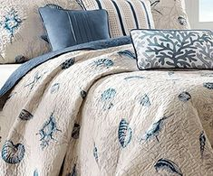 Ultimate Guide to Nautical Bedding! Discover the best nautical themed bedding sets for your beach home bedroom. We have nautical duvet covers, comforters, quilts, and more ideas for your home.
