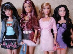 Barbie Fashion Fever Dolls