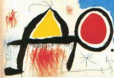 Figura em Frente ao Sol - Miró