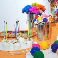Art Carnival Birthday Bash! - Art Party