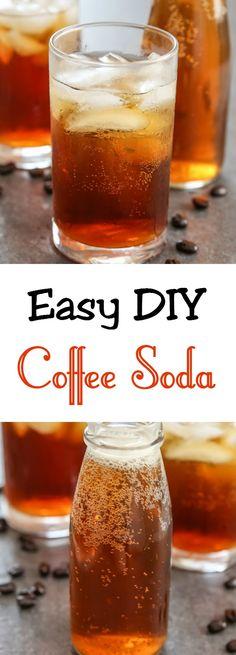 Easy Homemade Coffee Soda