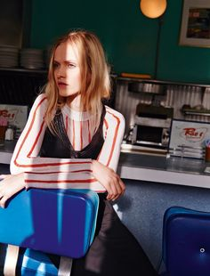 885 lost in l.a. : ginta lapina by heather favell for glamour france february 2015