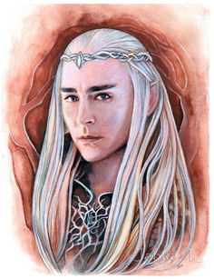 - coloured pencil drawing More Thranduils If you like my art, you can buy some of my original paintings, prints or hand-made jewellery here - www.etsy.com/shop/JankaLart?re… ... or just tell...