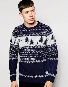 Boy/'s Xmas Jumper Ex Highstreet Rudolph Christmas Sweater