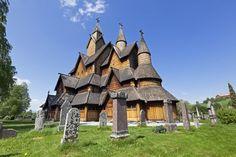 Heddal stave church, Notodden, Norway