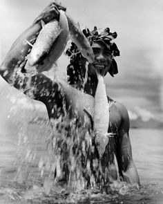 Gian Paolo Barbieri, Tahiti Tattoos, 1989  Gian Paolo Barbieri first worked in cinema and theatre and as a self-taught photographer, collaborated as an apprentice for Harper's Bazaar and what would soon become Vogue Italia during the 1960s.