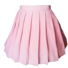 Beautifulfashionlife women's Japan high waisted Pleated Cosplay... ($14) ❤ liked on Polyvore featuring skirts