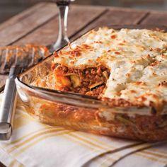 Lasagne au boeuf et légumes - Recettes - Cuisine et nutrition - Pratico Pratique
