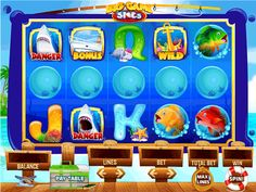 UI/HUD designs - Slot games on Behance