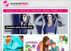 Second Skin Activewear | Vivid Creative | Branding Strategy, Website Design, Graphic Design and Marketing in Culpeper VA