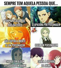 Esssa pessoa sou eu mesma. *Anime: 1- Orange. 2- Kamigami no asobi. 3- Shigatsu wa kimi no Uso. 4- Koe no Katachi. 5- Ano Hana. 6- Ao Haru Ride.*