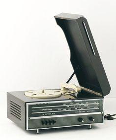 Brionvega RR 122 record player radio.  #recordplayer #turntable #music #records #vinyl #audio #stereo http://www.pinterest.com/TheHitman14/the-record-player-%2B/