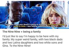 Family 4/4 Brooklyn Nine Nine, Brooklyn 9 9, Glee, Netflix, Jake And Amy, Funny Memes, Hilarious, Fandoms, Comedy Tv