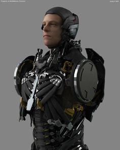 Robocop concept art by Igor Knezevic