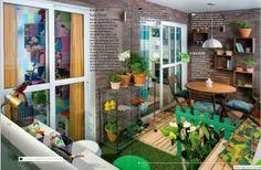 Simplesmente Decor: Apartamento Real - Leroy Merlim