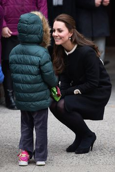 Kate Middleton Kicks Off Her First Day in NYC With a Special Visit: The Duke and Duchess of Cambridge spent the first part of their trip to the US apart as Prince William traveled to Washington DC on Monday morning to attend a special conference on behalf of his conservation charities and Kate Middleton stayed behind in NYC to visit local children.