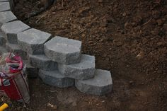 Retaining wall DIY