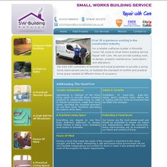 small work building service