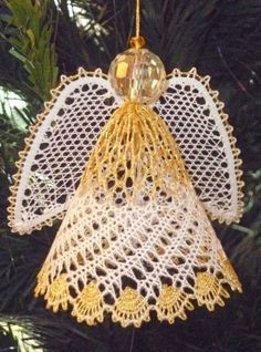 Angel 2013 Torchon Bobbin Lace Pattern