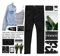 Untitled #2123 by tacoxcat on Polyvore featuring Topshop, Levi's, Cheap Monday, Clare V., Boohoo, Cleanse by Lauren Napier, Sephora Collection, TokyoMilk, Nearly Natural and FREDS at Barneys New York