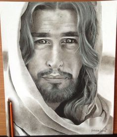 This drawing, entitled The Great I Am, was drawn by me. I had used charcoal and graphite for all of it, but also white charcoal and white gel pen for the highlights. I wanted to draw him to show people that Jesus is mighty and powerful, and that when you look into his eyes it will almost feel like your in a trance. This drawing reminds me of what I can accomplish in the future, and how I could get a career in art and communication someday.