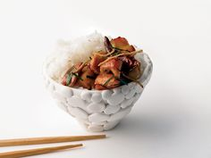 Smoky-Hot Ginger Chicken Stir-Fry | You don't have to visit Beijing to taste its food. Sydney-based chef Kylie Kwong's cookbook-cum-travelogue, My China, offers recipes from the capital ...