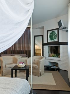 A corner of our Junior Suite, the most romantic room.