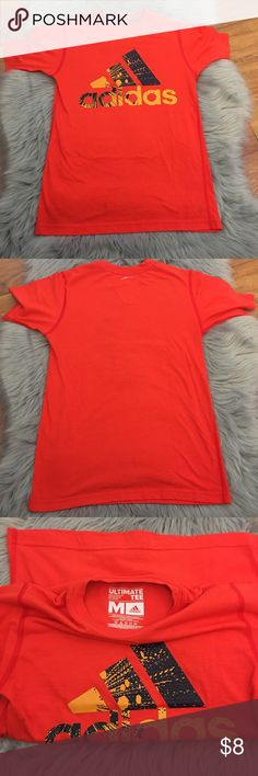 🏀Boys Adidas Ultimate Tee🏀 In great condition boys Adidas Ultimate Tee. Adidas Shirts & Tops Tees - Short Sleeve
